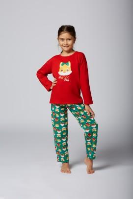 Articole pentru copii si bebelusi, Pijama de Craciun pentru fetite - Pijama de Craciun pentru fetite