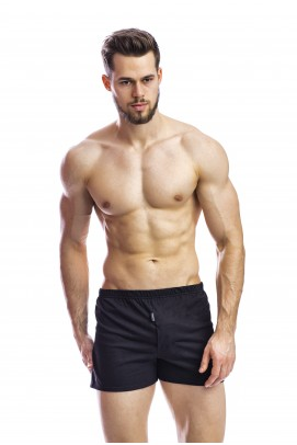 Cele mai vandute, Boxeri negri bumbac 100% lungi - Boxeri negri bumbac 100% lungi