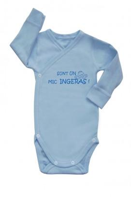 Body bebe, Body cu slogan bebe - Albastru