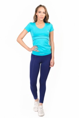 Articole sport, Tricou femei - Albastru