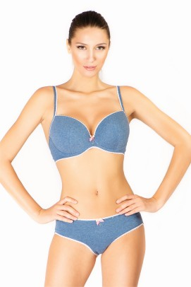 Sutiene, Sutien push-up cu cupe gel - Nav