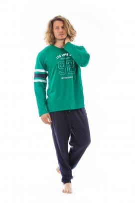 Pijamale barbati,  Pijamale barbati 100% bumbac -  Pijamale barbati 100% bumbac