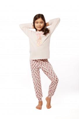 Bow collection, Pijama de fetite - Pijama de fetite