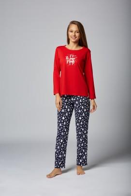 Pijamale Dama, Pijama de Craciun pentru femei - Pijama de Craciun pentru femei