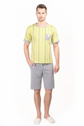 Pijamale barbati, Pijama barbati - Imprimat