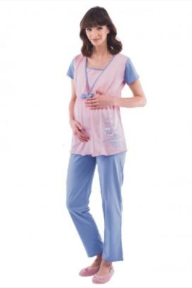 Pijamale Dama, Pijama pentru alaptat - Pijama pentru alaptat