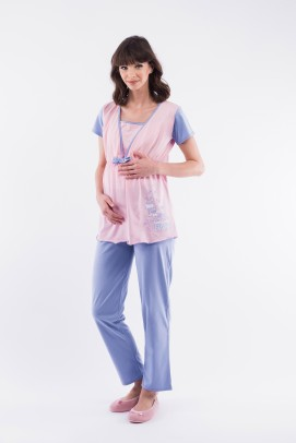 Pijamale, Pijama pentru alaptat - Pijama pentru alaptat