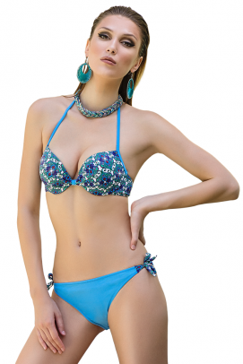 Uniconf beautified with Swarovski® Crystals, Sutien de baie push-up - Sutien de baie push-up