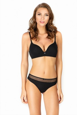 Uniconf beautified with Swarovski® Crystals, Sutien modal - Sutien modal